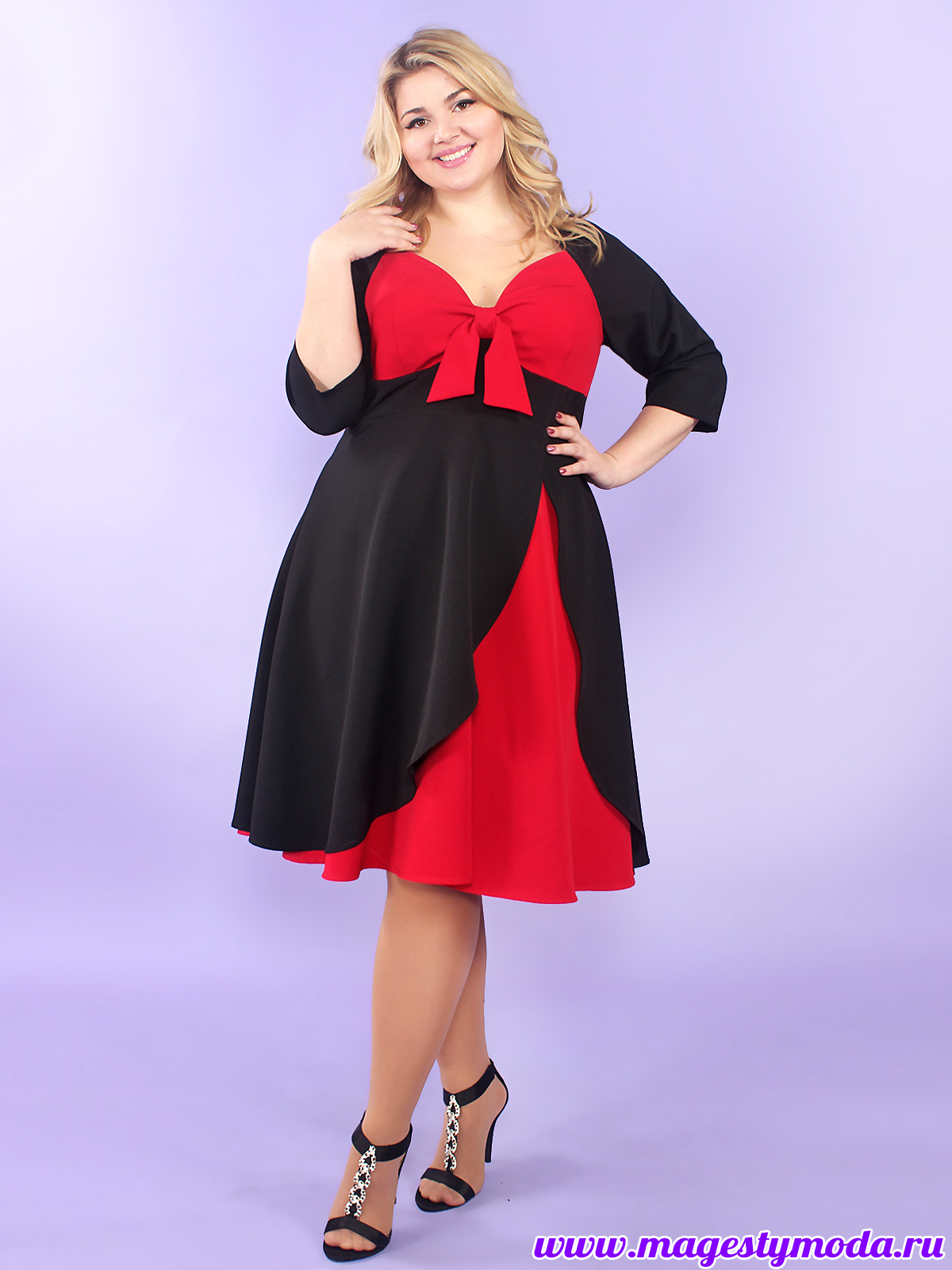13361ca6348 Топ платья облегающий с фигурным вырезом горловины. Юбка-солнце двухслойная  длиною ниже колена. В этом платье Вы будете выглядеть ярко и эффектном на  любом ...