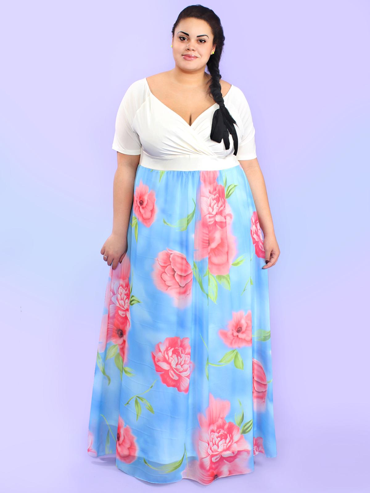 Модная одежда большого размера